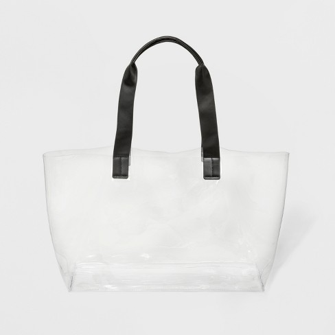 Translucent Tote Handbag Shade S