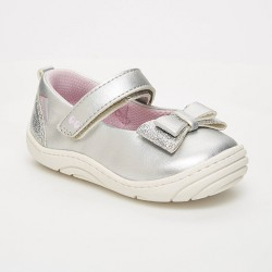 Baby Girls' Surprize by Stride Rite Ellen Sneakers - Silver