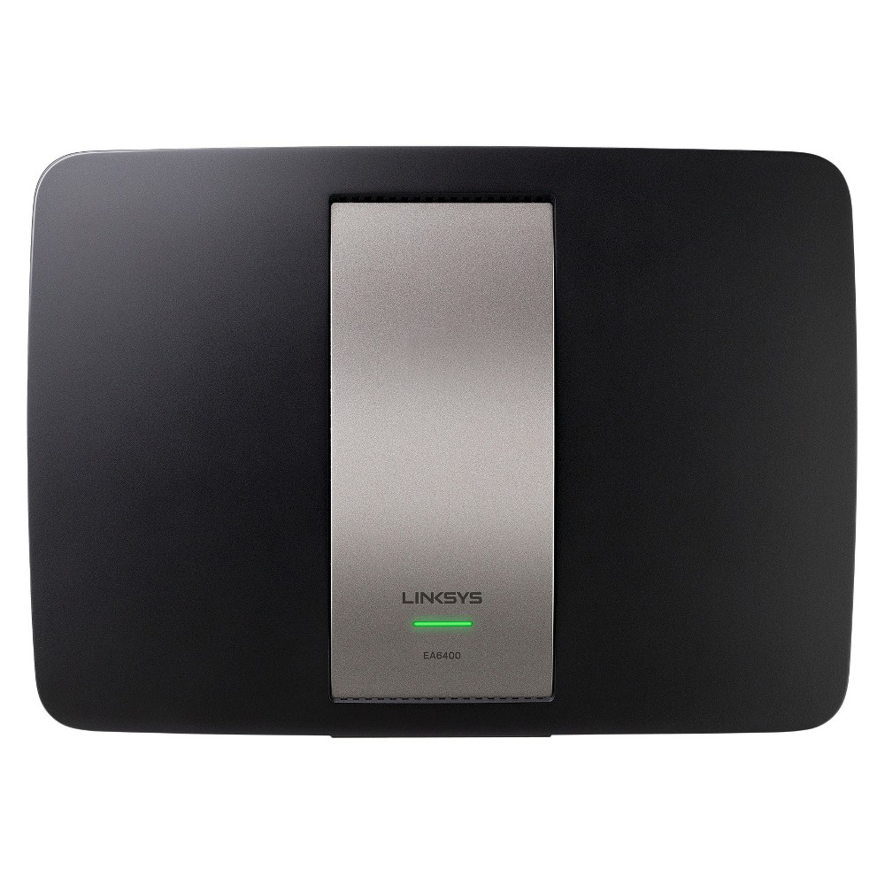 Linksys AC1600 Gigabit Ethernet Smart Wi-Fi Dual-Band Router with Parental Controls (EA6400-4A)
