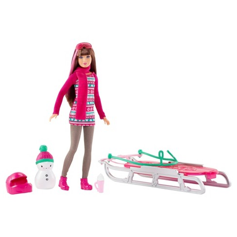 Barbie® Sisters' Sledding Fun and Doll Playset - image 1 of 5