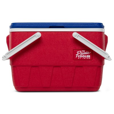 Igloo Picnic Basket Retro 25qt Cooler - Lobster Red