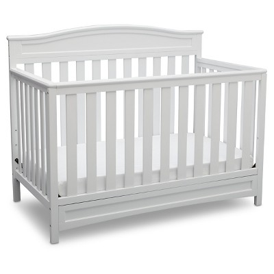 Delta Children® Emery 4-in-1 Convertible Crib - White