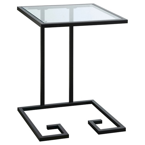 Willa Accent Table Black - Carolina Forge - image 1 of 3