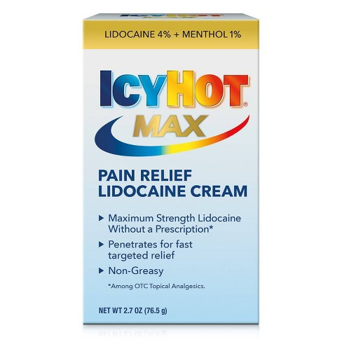 Icy Hot with Lidocaine Pain Relieving Cream - 2.7oz. - image 1 of 4