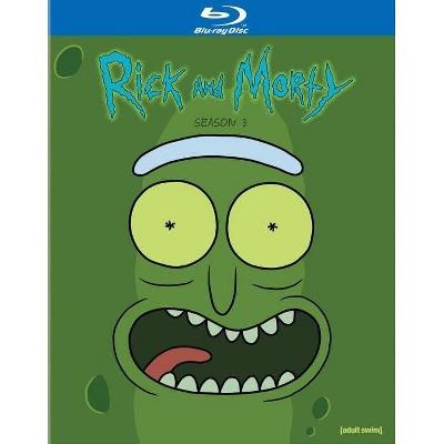 Rick and Morty: Season 3 (Blu-ray)