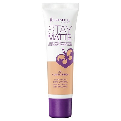 Rimmel Stay Matte Liquid Mousse Foundation - 200 Soft Beige - 1 Fl Oz : Target