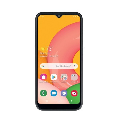 Consumer Cellular Postpaid Samsung A01 (16B) - Black