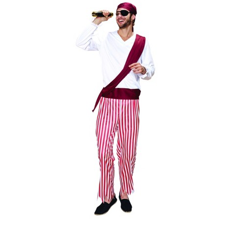 Northlight Pirate Men's Adult Halloween Costume - Large - image 1 of 1