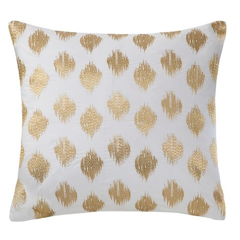 Nadia Dot Embroidered Throw Pillow - image 1 of 2