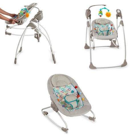 Bright Starts Rock and Swing 2-in-1™ - Jungle Stream™ - image 1 of 13
