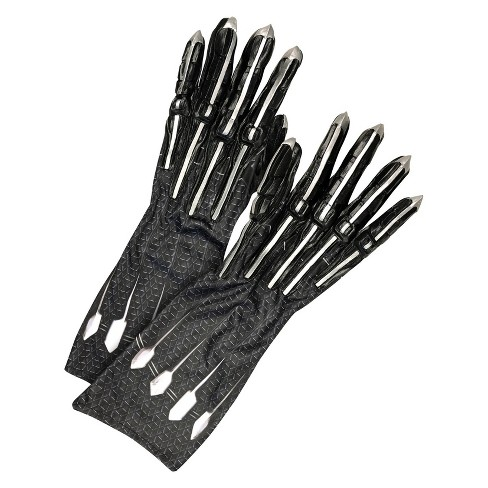Adult Marvel Black Panther Costume Gloves With Claws - image 1 of 1