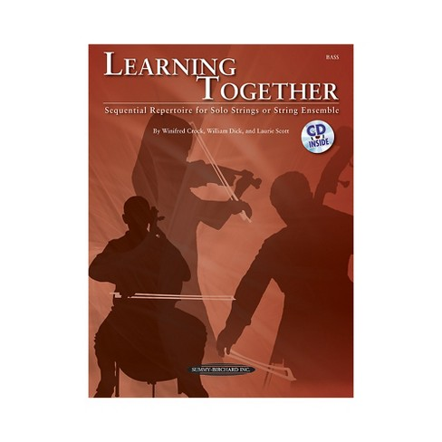 Summy-Birchard Learning Together for Upright Bass (Book/CD) - image 1 of 1
