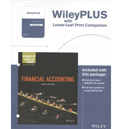 Financial Accounting (Paperback) (Jerry J. Weygandt & Ph.D. Paul D. Kimmel & Ph.D. Donald E. Kieso) - image 1 of 1