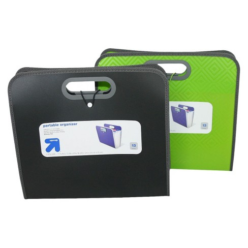 12c04f631fde Portable Organizer Expanding File Folders 13 Pocket - Up&Up™