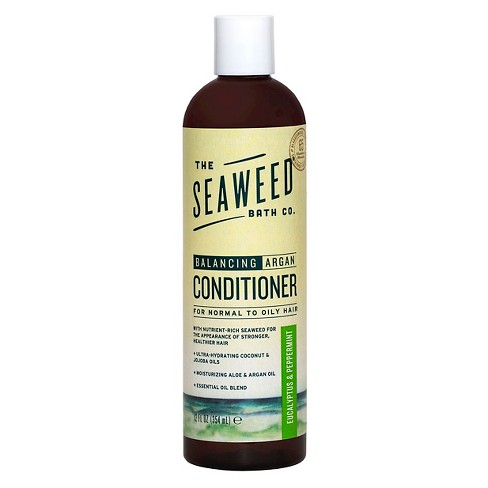 The Seaweed Bath Co. Natural Balancing Eucalyptus & Peppermint Argan Conditioner -12oz - image 1 of 2