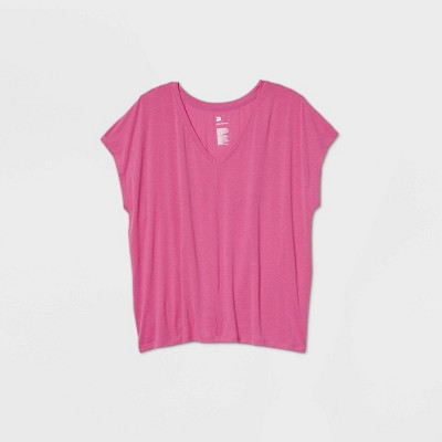 Women's Short Sleeve Tie Back V-Neck T-Shirt - All in Motion™