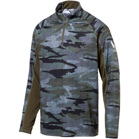 f5461f29 Men's Puma Volition Camo Golf 1/4 Zip Pullover : Target