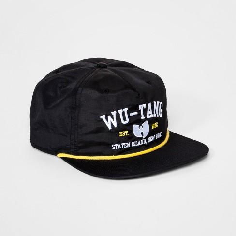 Men s Wu-Tang Clan 1992 Baseball Hat - Black One Size   Target 7f4fb579c88