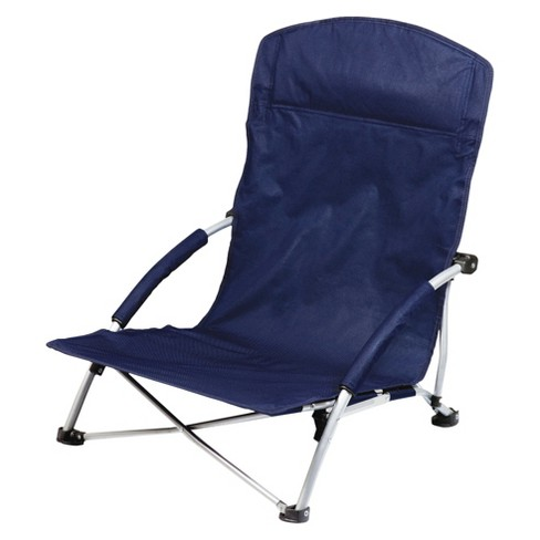 Picnic Time Tranquility Chair with Carrying Case - Navy (8.0 Lb) - image 1 of 4