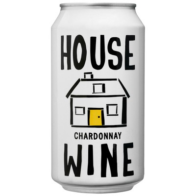 House Wines Chardonnay White Wine - 375ml Can
