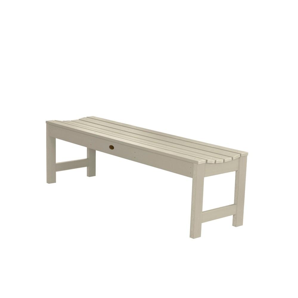 Lehigh Picnic Bench 4ft Whitewash - Highwood, Off White