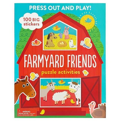 Farmyard Friends - by Various (Hardcover)