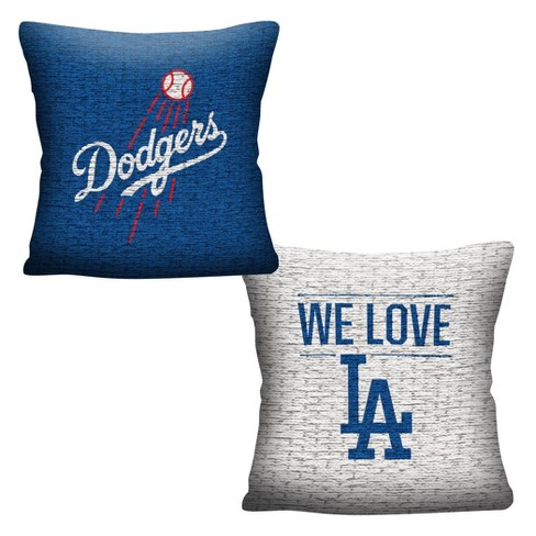 MLB Los Angeles Dodgers Inverted Woven Pillow - image 1 of 4