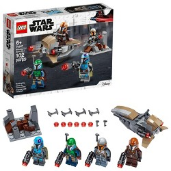 LEGO Star Wars Mandalorian Battle Pack 75267 Shock Troopers and Speeder Bike Building Kit