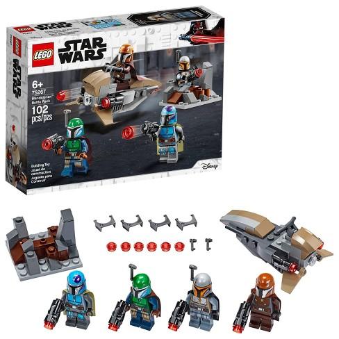 Lego Star Wars Mandalorian Battle Pack Shock Troopers And Speeder Bike Building Kit 75267 Target