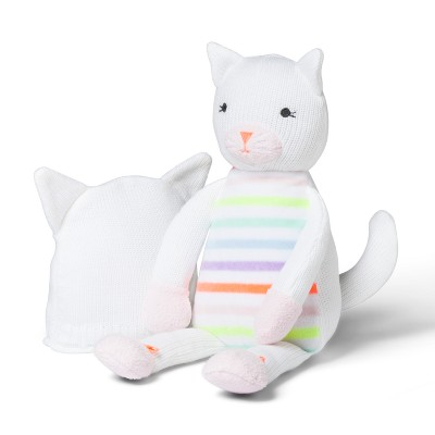 Plush and Hat Kitty - Cloud Island™ White