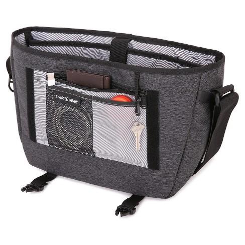 SWISSGEAR Getaway Messenger Bag - Heather Gray   Target 8073f13e4b