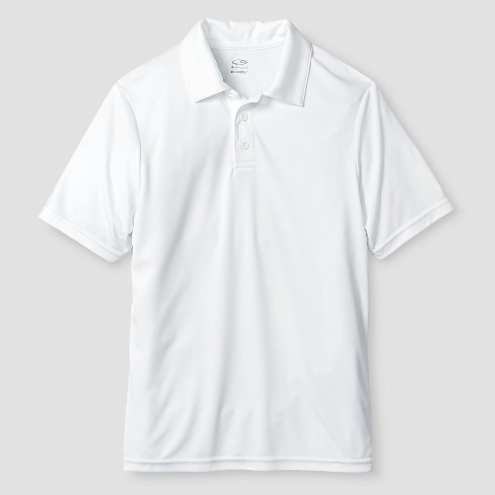 Boys' Performance Uniform Polo Shirt - C9 Champion White XL