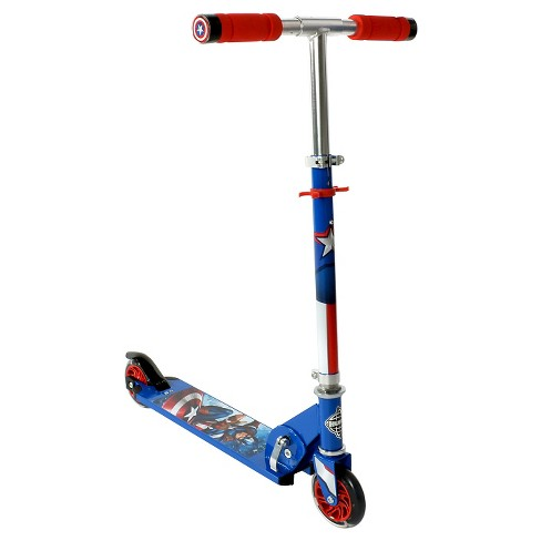 Huffy Captain America Folding Scooter - Blue - image 1 of 2