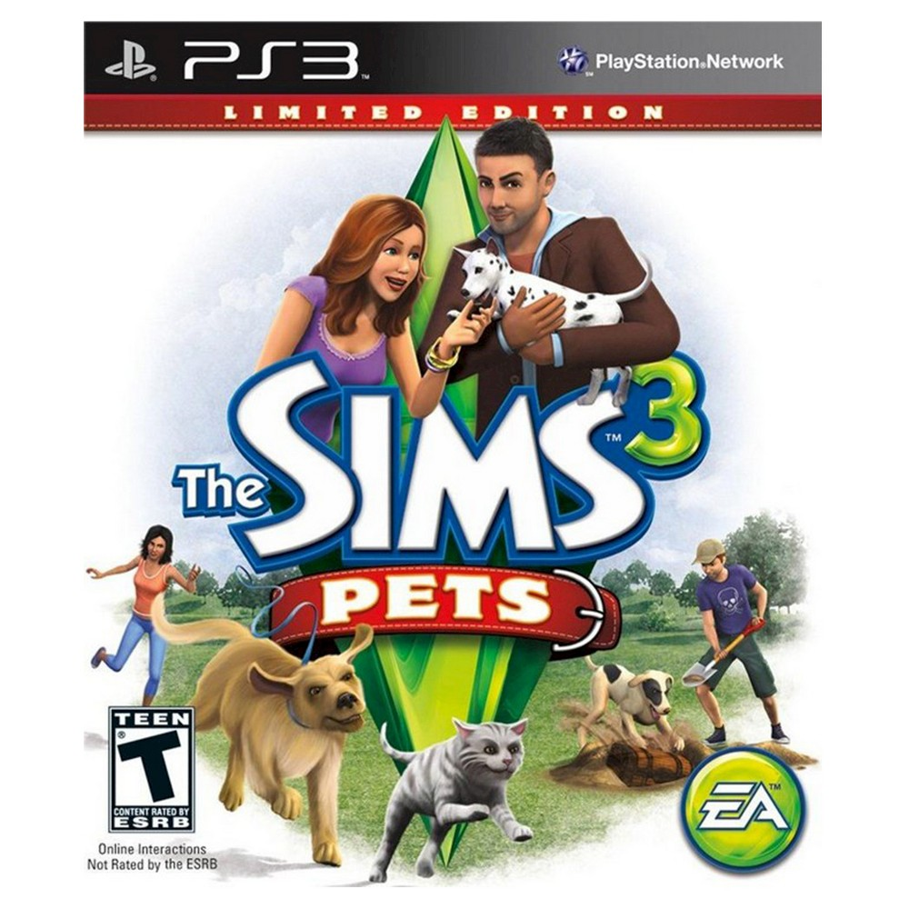 The Sims 3: Pets PlayStation 3 Create your own simulated pets with The Sims 3: Pets for PlayStation 3. Give your pets unique personality traits, from lovable kittens to brave guard dogs, and follow them on a variety of 4-legged adventures.