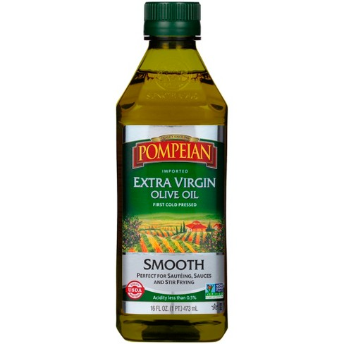 Pompeian Extra Virgin Olive Oil Smooth - 16oz - image 1 of 1