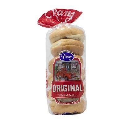 New York Bagel Boys Original Bagels - 18oz/6ct