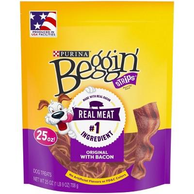 Purina Beggin Strips Bacon Flavor Dog Treats - 25oz