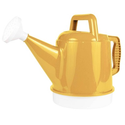 2.5gal Deluxe Watering Can Earthy Yellow - Bloem