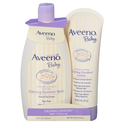 AVEENO® Baby Calming Comfort Gift Set