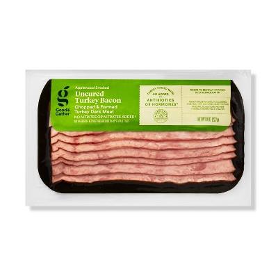 Applewood Smoked Uncured Turkey Bacon - 8oz - Good & Gather™