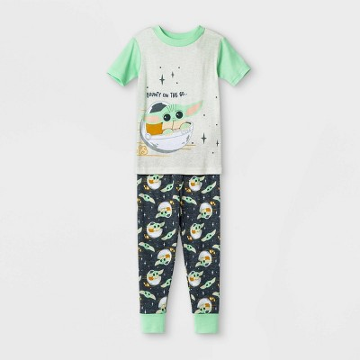 Toddler Boys' 2pc Star Wars Pajama Set - Green