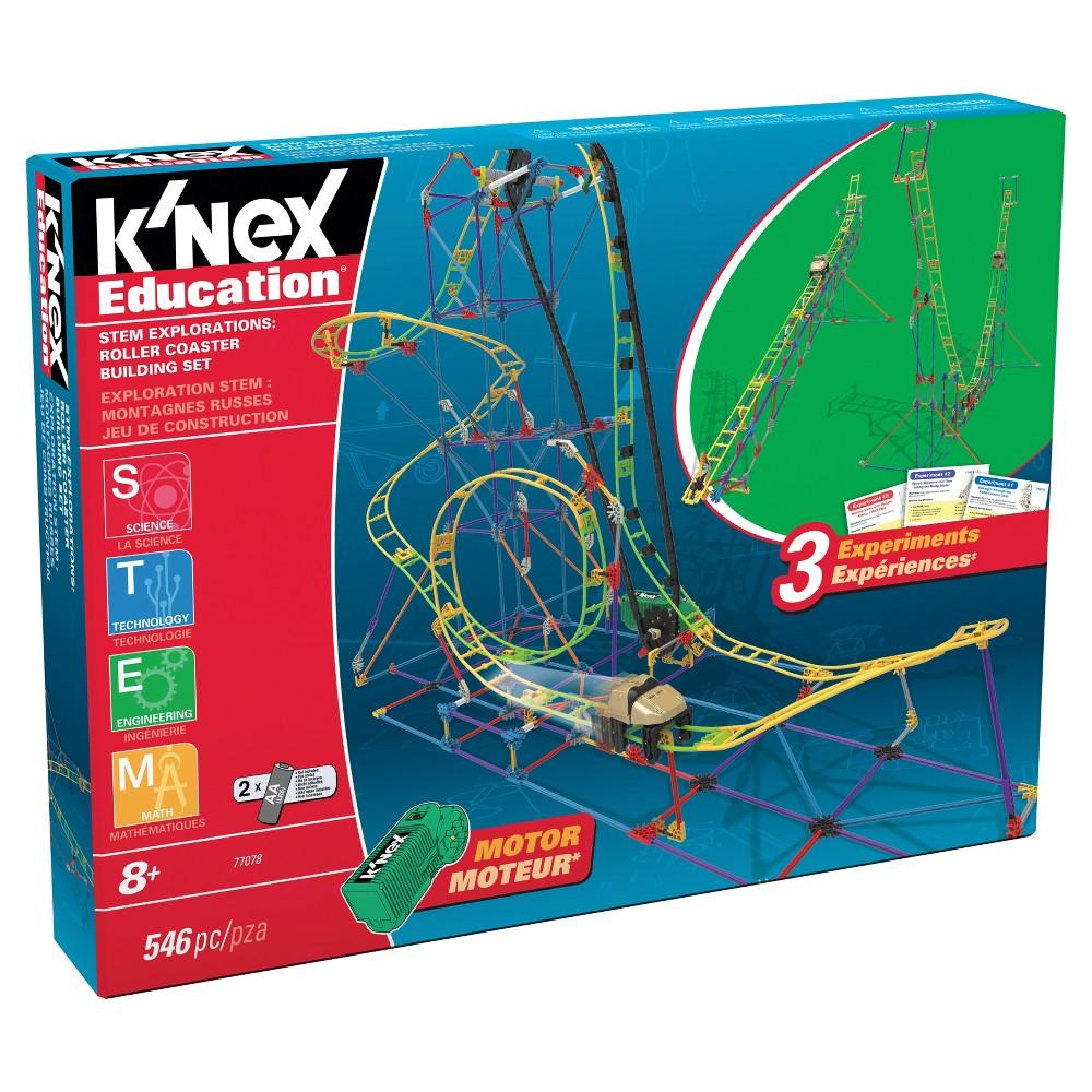 K'Nex Education Stem Explorations : Rollercoaster Building Set