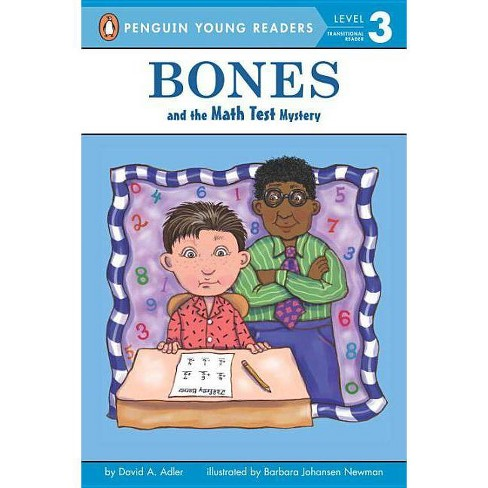 Bones and the Math Test Mystery - (Puffin Easy-To-Read: Level 2) by  David A Adler (Paperback) - image 1 of 1