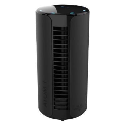 Vornado Atom Small Tower Oscillating Fan Black