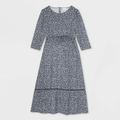 3/4 Sleeve Woven Maternity Dress - Isabel Maternity by Ingrid & Isabel™