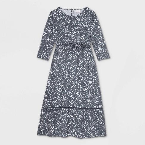 3/4 Sleeve Woven Maternity Dress - Isabel Maternity by Ingrid & Isabel™ - image 1 of 2