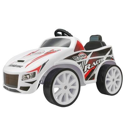 Kid Motorz 6V Speed Racer Powered Ride-On - White