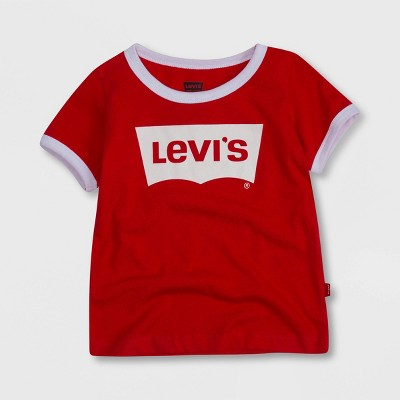 Levi's® Toddler Girls' Short Sleeve Graphic T-Shirt