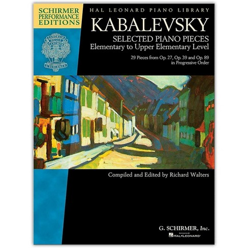 G. Schirmer Kabalevsky: Selected Piano Pieces Elem to Upper Elem Level -Performance Editions - image 1 of 1