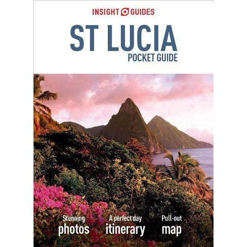 Insight Guides Pocket St Lucia (Travel Guide with Free Ebook) - (Insight Pocket Guides)(Paperback) - image 1 of 1